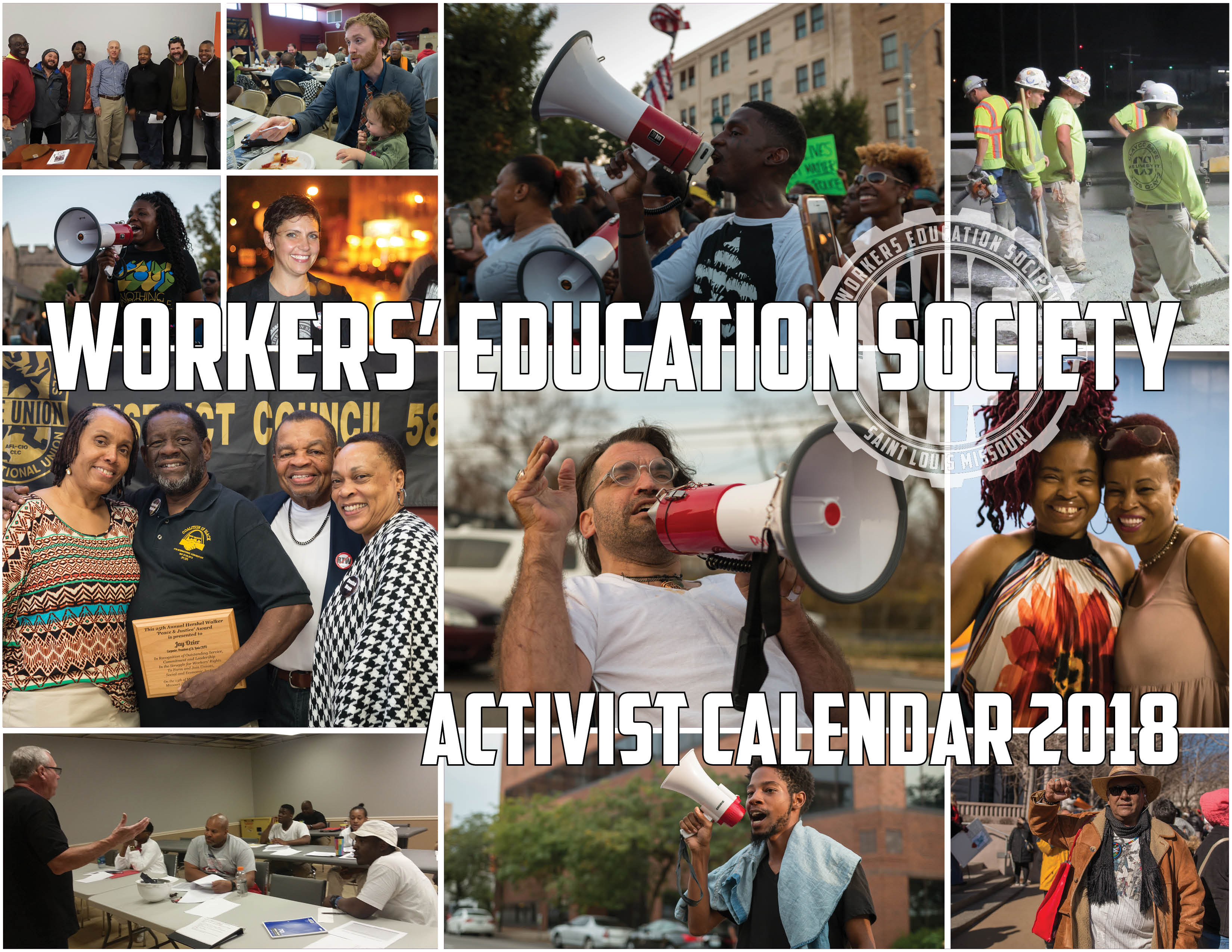 Get Your WES Activist Calendar 2018 Today!